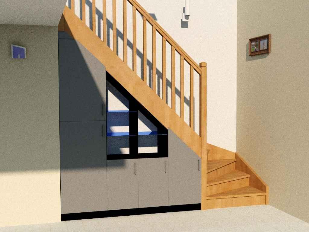 Proc der un amenagement placard sous escalier - Les plus beaux interieurs de maison ...